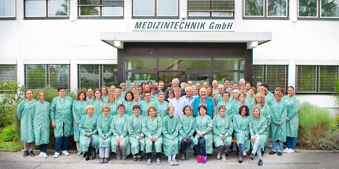 Mitarbeiter und Mitarbeiterinnen von HMT Medizintechnik